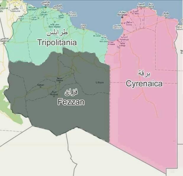 The Guardian Révèle un Plan  Américain de Division de la Libye en Trois Etats . _____ 10_04_2017.