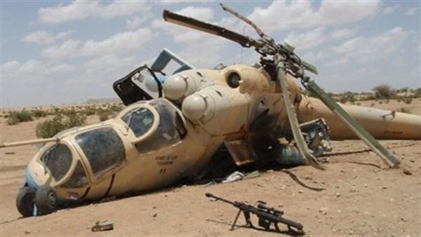 Chute d'un avion militaire Qatari sur la côte de la Libye  .  _____ 12_04_2017.