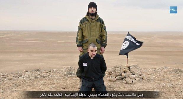 ISIS  libère la vidéo décapite Russian Colonel espion de Poutine  Jour de la Victoire de la Russie _____09_05_2017
