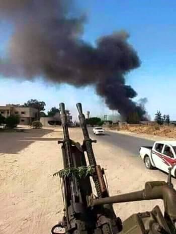 Les affrontements se poursuivent entre les milices à l'est de la ville de Tripoli _ Qara Polli l'intensification descombats dans les zones Al Qawaiyah … _ Tués lors d'affrontements entre les forces présidentielles et de sauvetage _     Ledéplacement deplus de 85%  despersonnes enraison de l'intensification descombats  __ 11_07_2017.