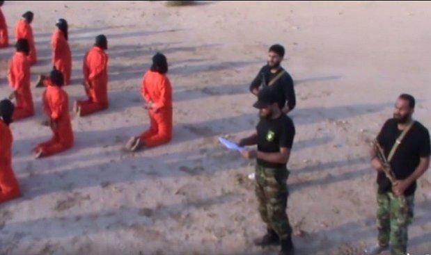 #Benghazi – «Rights Watch» demande une enquête sur l'exécution vidéo ISIS supervisée   Capt Libyen __ 25_07_2017.